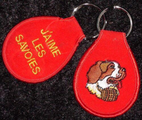 Porte-clés souvenir Savoie Bernard lawinenhund ski Alpes Alps