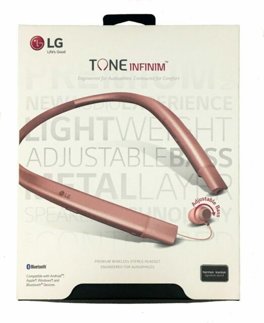 Lg Tone Infinim Wireless Stereo Headset Hbs 920 Rose Gold For Sale Online