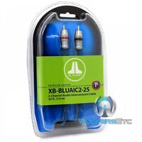Jl Audio Xb-bluaic2-25 25ft 2channel Interconnect Rca Cable Wire For Amplifier