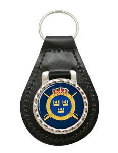 Livregementets-husarer-Swedish-Hussars-Leather-Key-Fob