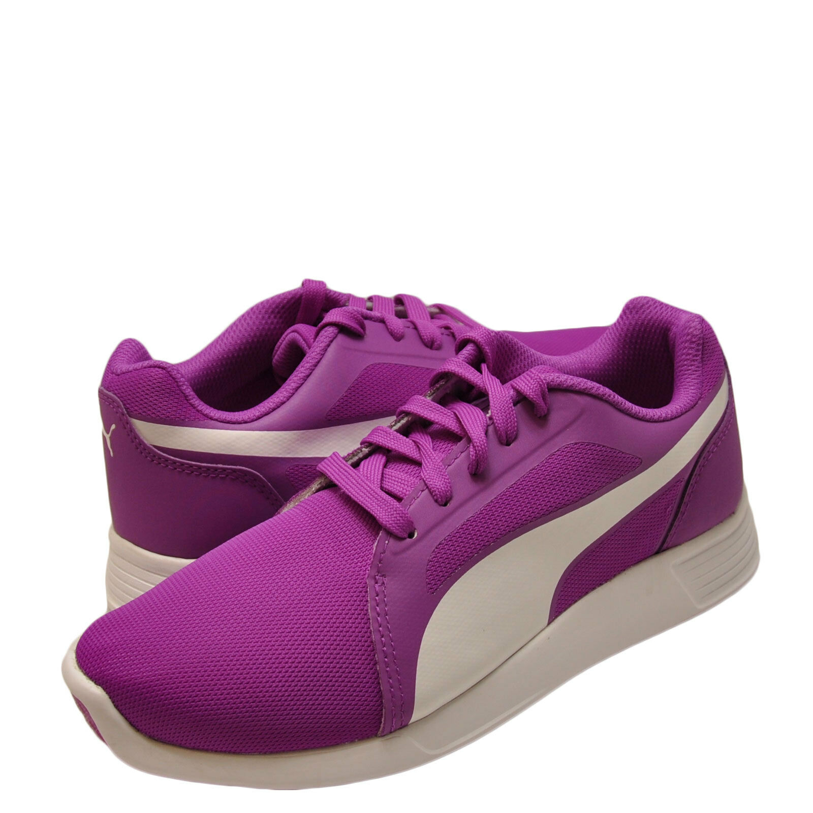 femmes Shoe PUMA ST Trainer Evo Sneakers 360963-07 Violet Cactus Flower New