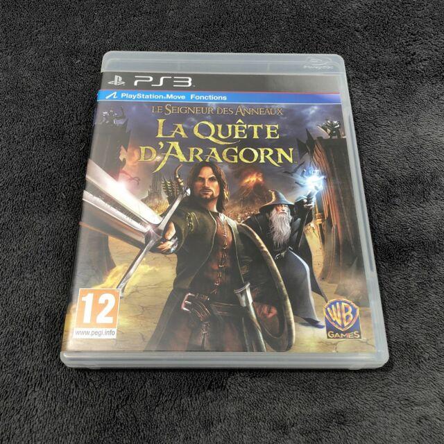 PS3 Le Seigneur des Anneaux ~ La Quête d'Aragorn ~ FRA CD état neuf