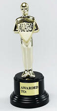 Movie Oscar Hollywood Actor Film Star Award Trophy Fancy Dress