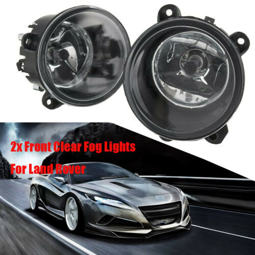 2x Front Clear Fog Lights Lamp w//H11 Bulbs For Land Rover Discovery 04-09 UK
