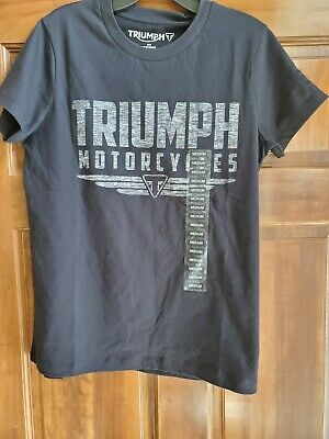GENUINE Triumph Motorcycles Ladies Life Needs More T Shirt  BNWT 99P