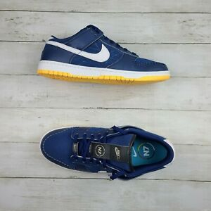 NIKE Men SB Dunk Low NIKE BY YOU Blue White DN2066 991 - 12.5 New/NoLid