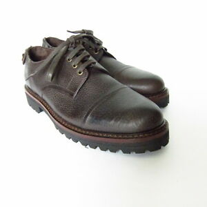 S-506150-Neuf-Belstaff-Berkeley-Decontracte-Cuir-Laceup-Chaussures-Taille-US-10