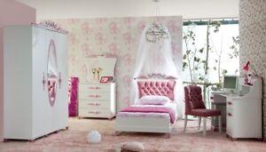 Kinderzimmer Pretty 2 Rosa Mit Bett 90x200cm Madchenzimmer Sparset