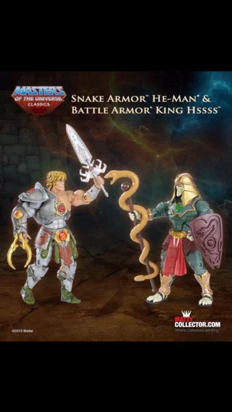 MOTU Classics Snake Armor & Hssss NEW Ship Worldwide  SHIP US