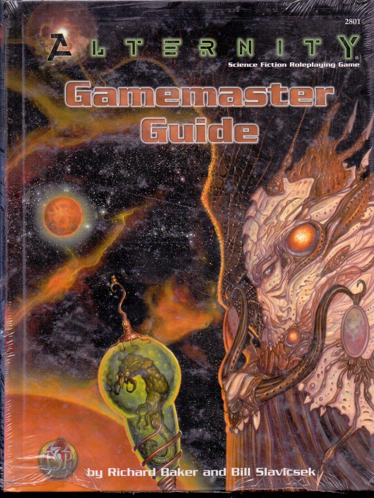JDR JEU DE ROLE   TSR ALTERNITY GAMEMASTER GAMEMASTER GAMEMASTER GUIDE abdc07