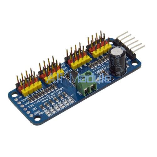 PCA9685 16 Ch PWM 12-bit Motor Servo Escudo Driver I2C Módulo Para Arduino Robot