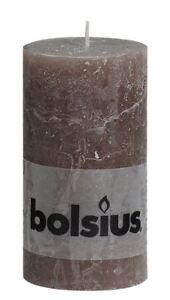 Bolsius-Pillar-Rustic-Paraffin-Wax-Candle-54-Hour-Burn-130-x-68mm-Taupe