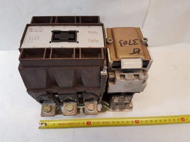 Telemecanique CN1-HC-133 Contactor 3-pole 240-254VAC/50Hz 200A - Good w/ bolts