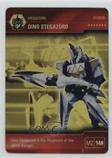 2013 Power Rangers Thunder Collectible Card Game Base #MZ14H Dino Stegazord 1t5