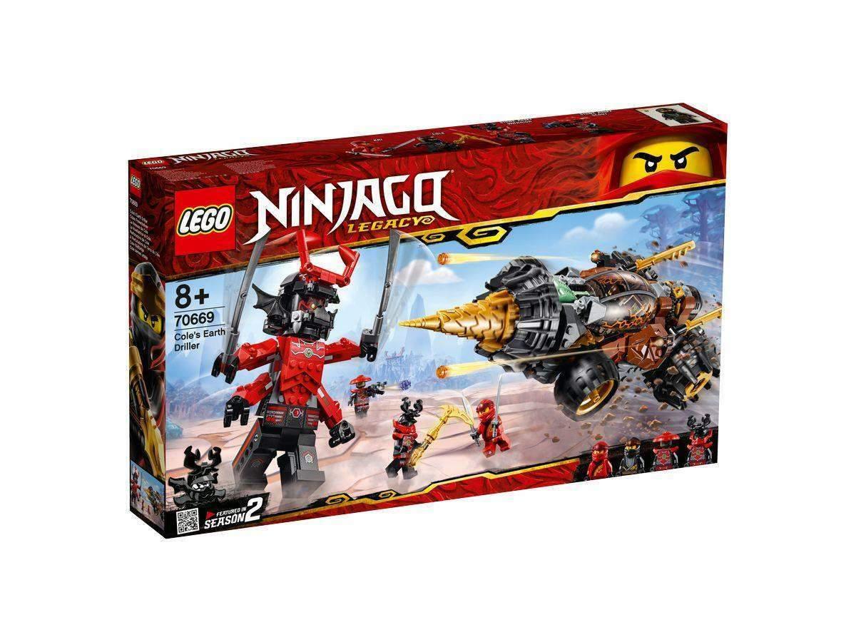 LEGO® NINJAGO® 70669 - - - Coles Powerbohrer d9c437