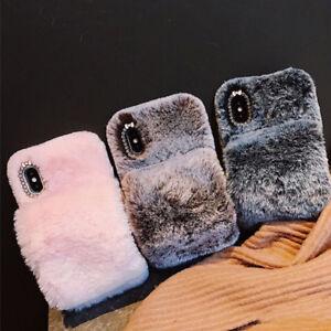 Soft-Warm-Plush-Fluffy-Phone-Case-Cover-Comfy-Faux-Fr-Fur-iPhone-X-XR-XS-Max-8-7