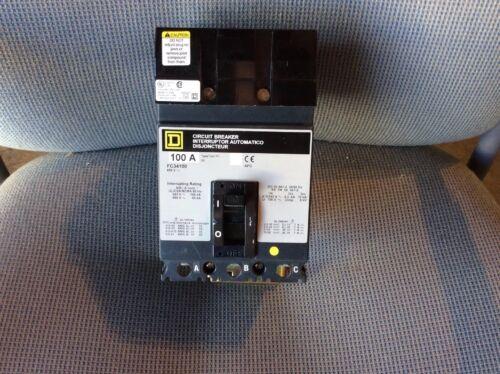 Square D FC34100 Circuit Breaker