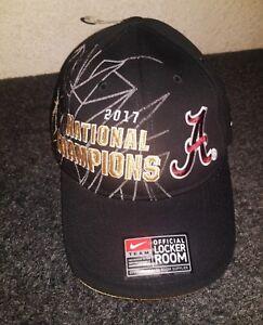 491448c6293 Image is loading Alabama-Crimson-Tide-2017-National-Champions-Nike-Locker-