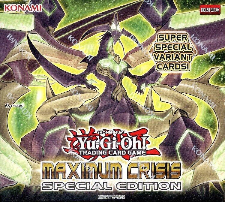 YUGIOH MAXIMUM CRISIS SPECIAL EDITION BOOSTER BOX BLOWOUT BLOWOUT BLOWOUT CARDS 60924d
