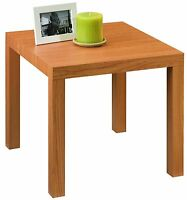 Modern Natural Wood Grain End Table Living Room Furniture Coffee Lamp Stand