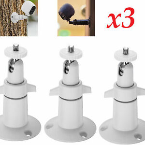 3-pcs-Security-Wall-Holder-Mount-Adjustable-Outdoor-Indoor-for-Arlo-Pro-Camera