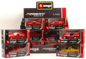 Offizielle Ferrari 1 43 Diecast Metall Modellauto Die Cast Modelle Autos Miniatures Ebay