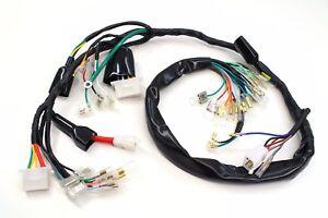 main wire wiring harness 1972 cb 350 f 1974 cb 350 f1 four wire loom rh ebay ie Automotive Wiring Harness Trailer Wiring Harness
