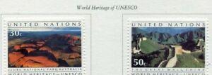 19243-UNITED-NATIONS-New-York-1992-MNH-UNESCO-Australia-China