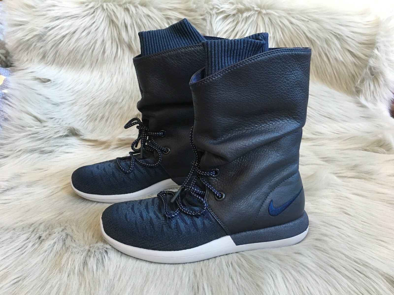 New Nike Roshe Two Hi Flyknit Sneakerboots  Price reduction
