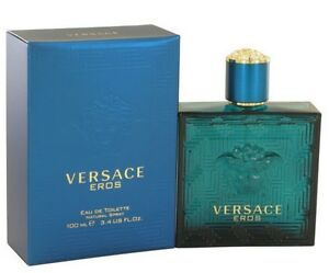 Versace Eros by Gianni Versace 3 4 oz EDT Cologne for Men New In Box