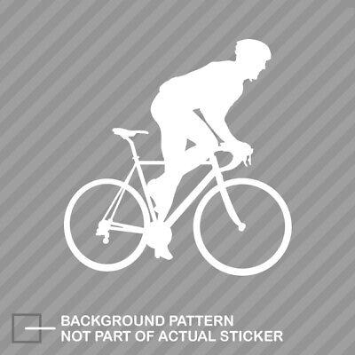Bike Crit Sticker Decal Car Truck road mtb bike tdf cycling criterium cyclist