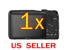 1x Sony CyberShot DSC-HX30V Clear LCD Screen Protector Guard Shield Film