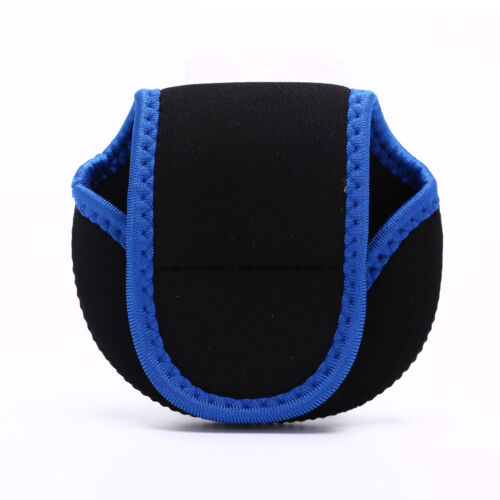 Neoprene Fly Fishing Reel Storage Bag Protective Cover Case Pouch Holder Bla /_GF