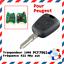 Cle-vierge-electronique-avec-transpondeur-ID46-PCF7961-pour-PEUGEOT-206-206CC miniatuur 1