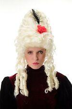 Perruque De Dames Carnaval Baroque Marie Antoinette Blond Platine Beehive