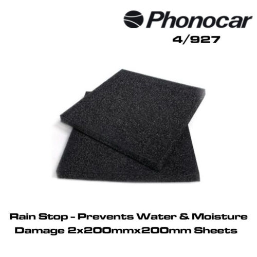 PHONOCAR 4//927 Stop-evita que el agua de lluvia daños por humedad /& Hojas De 2x200mmx200mm