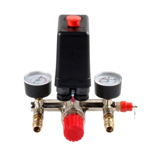 Air Compressor 125PSI Regulator Pump Pressure Valve Gauge Control Switch Parts