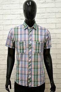 Camicia-Uomo-JACK-amp-JONES-VINTAGE-Taglia-M-Maglia-Camicia-Shirt-Man-a-Righe