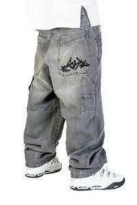 Dettagli su Jeans THEBLUESKIN skate rap pantaloni baggy blueskin hip hop bsj63