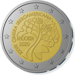 2-euro-commemorative-Andorre-2020-BU-27eme-Sommet-ibero-americain