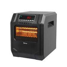 1500 Watt Electric Space Heater Infrared Cabinet LED Display w/ Remote Control