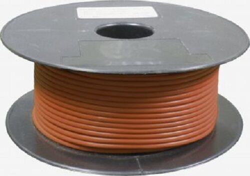 New single core automotive cable 14//030 1-50 metre lengths car van bike brown