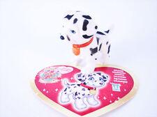 DOT ou DOLLY le Dalmatien + sa carte - Puppy  in my Pocket