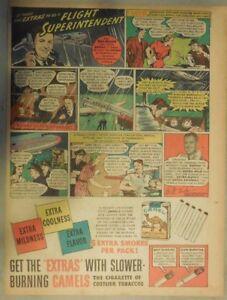 Camel Cigarrillo Anuncio: Flight Superintendente Bill Miller 1940 Higienico