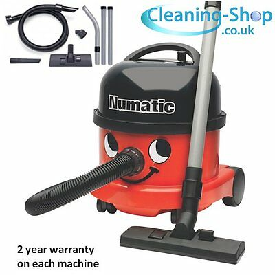 Henry Vacuum Cleaner GENUINE BRAND NEW Numatic NRV200 RED 2017 Commercial