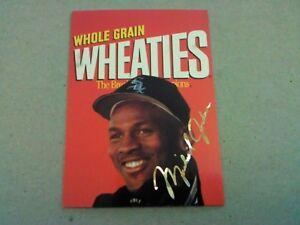 Details About Michael Jordan Wheaties Baseball 199495 Sports Stars Usa White Sox Rare