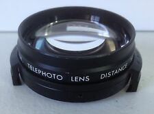 VINTAGE IMADO AUX TELEPHOTO LENS DISTANCE TO OBJECT 2.5M MADE IN JAPAN