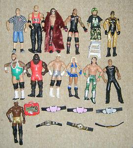 WWE-MATTEL-figura-de-accion-Lucha-Libre-Elite-Serie-Basico-Belt-Accesorios-WWF