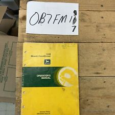 New Listingjohn Deere 1209 Mower Conditioner Operators Manual Ome63033