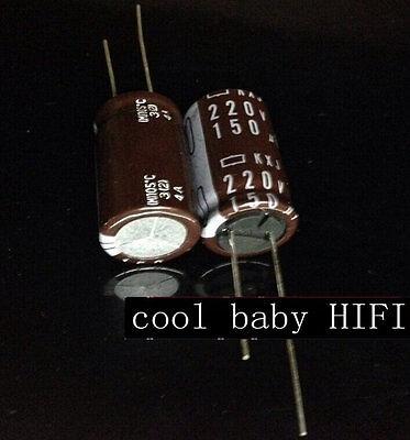 10pcs Nippon Chemi-Con NCC KY 1200mfd 16V 1200UF electrolytic Capacitor